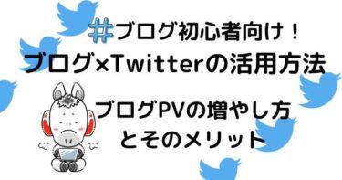 【簡単】ブログをSNS(Twitter)で拡散しPVを増やす方法