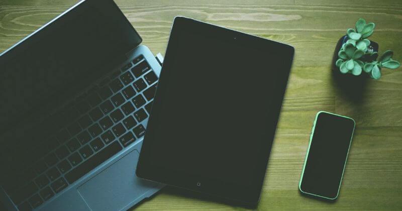 PCとタブレット